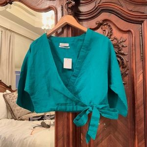 NWT Urban Outfitters Wrap Top